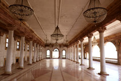 Darbar Hall of Royal Palace, Indore Royalty Free Stock Photography