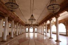 Darbar Hall von Royal Palace, Indore Lizenzfreie Stockfotografie