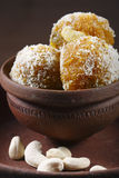 Darbesh is a sweet balls made from Bonde Stock Photography