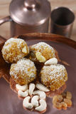 Darbesh is a sweet balls made from Bonde Royalty Free Stock Photo
