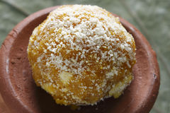 Darbesh is a sweet balls made from Bonde Royalty Free Stock Image