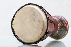 Darbouka конструировало Сделано из древесины Стоковая Фотография