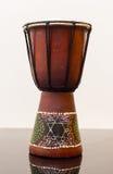 Darbouka entwarf Gemacht vom Holz Stockbild