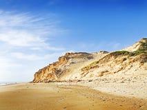 darby澳洲的海滩 库存照片