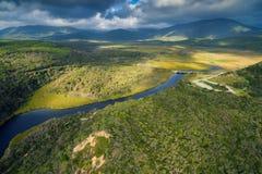 Darby River, het Voorgebergte van Wilson ` s, Australië Royalty-vrije Stock Afbeelding