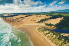Darby River, Wilson`s Promontory, Australia. Scenic aerial view of Wilson`s Promontory in Victoria, Australia. Darby River Stock Photography