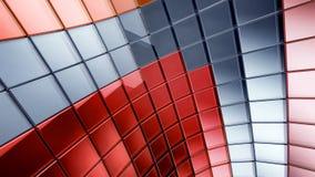darck предпосылки абстракции 3d футуристическое Стоковое Изображение RF