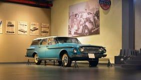 Dard 8 de Dodge 440 modèle du chariot de station 1962 dans le musée de transport d'héritage dans Gurgaon, Inde de Haryana Images libres de droits