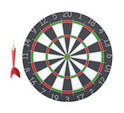 Dard et Dartboard Photos stock