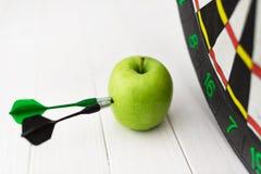Dard vert de pomme Photographie stock libre de droits