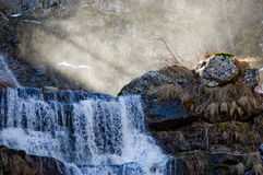 Dardagna waterfall Royalty Free Stock Image