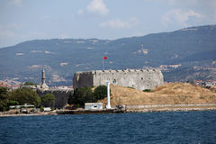 The Dardanelles Castle Royalty Free Stock Photos