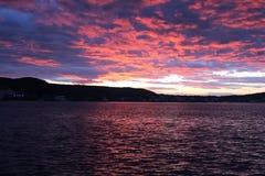 Sunset at Gelibolu. The Dardanelles sunset at Gelibolu Royalty Free Stock Image