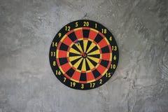 Dardeggia le frecce nel centro dell'obiettivo Fotografie Stock Libere da Diritti