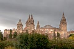 Dardo de Catalunya, Barcellona, Spagna di Museu Nacional Fotografia Stock Libera da Diritti