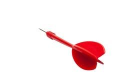 Dardo vermelho Foto de Stock