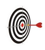Dardos con una flecha 2 Imagen de archivo