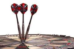Dardos na paisagem do Bullseye Imagem de Stock