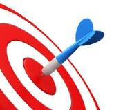 Dardos y blanco de la flecha stock de ilustración