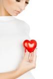 Dare concetto di amore Immagini Stock