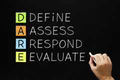 Free DARE - Define Assess Respond Evaluate Stock Image - 92309021