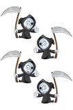 Dare del reaper pollici su Fotografia Stock Libera da Diritti