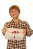 Dare del regalo   Immagine Stock Libera da Diritti