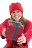 Dare del regalo immagine stock