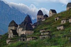 Dargavs, un monument culturel et historique des 14-16èmes siècles Images libres de droits