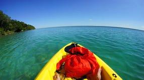 Dargelegt auf einem Abenteuer auf Paradies Lizenzfreie Stockfotos