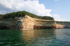Dargestellte Felsen Stockbilder