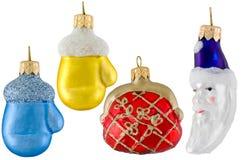 Dargestellte Weihnachtsspielwaren stockfoto