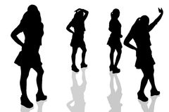Dargestelltes woman-15 Stockbilder