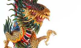 Dargon. Dragon is a very auspicious to the Chinese. Chinese dragons are considered good luck. I worshiped the dragon, considered the home Stock Photography