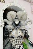 Homme masqué par dragon Photo stock