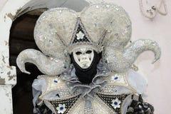 Homme masqué par dragon Photo libre de droits