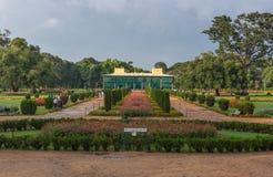 Daria Daulat Bagh da sultão de Tipu, Mysore, Índia fotos de stock