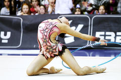 Daria Dmitrieva RHYTHMIC GYMNASTIC Stock Photo