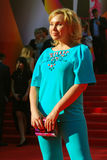 Daria Ekamasova at Moscow Film Festival Royalty Free Stock Image
