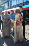 Daria Ekamasova no festival de película de Moscovo Imagem de Stock Royalty Free