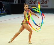 Daria Kondakova - Deriugina Cup All-round Winner Royalty Free Stock Images