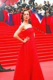 Daria Moroz at Moscow Film Festival Stock Image