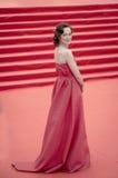Daria Moroz sur le tapis rouge avant l'ouverture 37 du festival de film international de Moscou Photographie stock libre de droits
