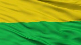 Darien miasta flaga, Kolumbia, Valle Del Cauca Dział, zbliżenie widok zdjęcia royalty free
