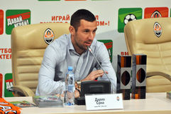 Darijo Srna and his awards Royalty Free Stock Image