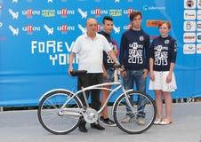Dario Argento al Giffoni Film Festival 2013 Foto de archivo libre de regalías