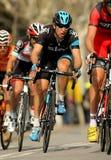 Dario Cataldo av skyen Procycling Royaltyfri Fotografi