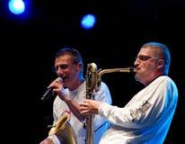 Dario Cecchini et Gege Telesforo Images libres de droits