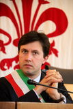 Dario Nardella mayor of Florence, expressions Stock Photo