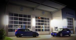 dario`s and anna`s car Stock Image